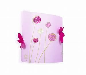 Applique Murale Fille : applique murale chambre fille rose et vert anis fabrique casse noisette ~ Nature-et-papiers.com Idées de Décoration