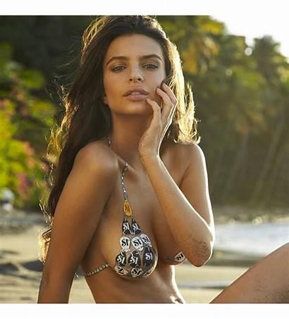 Emily Ratajkowski Hottest Gq Instagram Beach Right