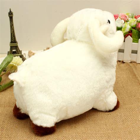 buy cute white  sheep plush doll kid stuffed toy