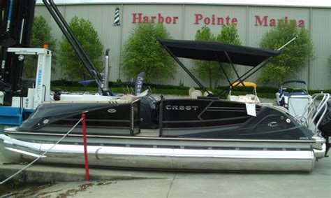 Craigslist Boats Savannah by Crest Savannah Pontoon Boats New And Used Boats For Sale
