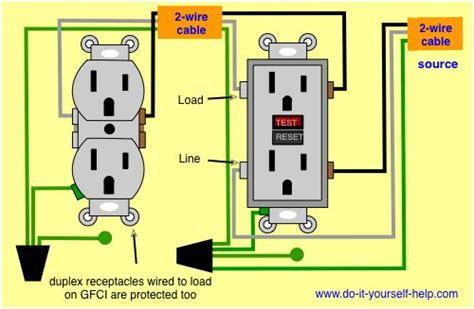 wiring diagram   ground fault circuit interrupter