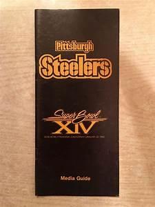 1980 Pittsburgh Steelers Nfl Football Super Bowl Xiv Media