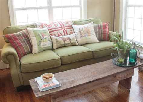using a bench as a coffee table on the bench clever ways to use benches in your