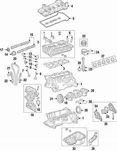 Mazda 2 Engine Valve Spring Retainer Keeper
