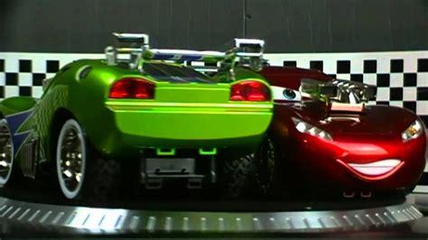 Cars 2 Movie Green Lightning Mcqueen