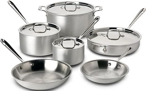 stainless steel cookware set reviews october