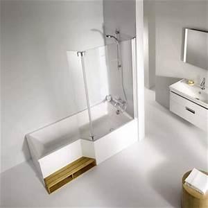 Baignoire A Porte Lapeyre : salle de bains cr er ou r nover facilement c t maison ~ Premium-room.com Idées de Décoration