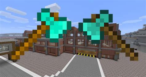 Minecraft Diamond Axe Factory (betty!)