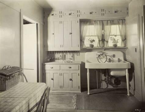 cabinet kitchen island kohler demonstration home 1928 kitchen photograph 1924