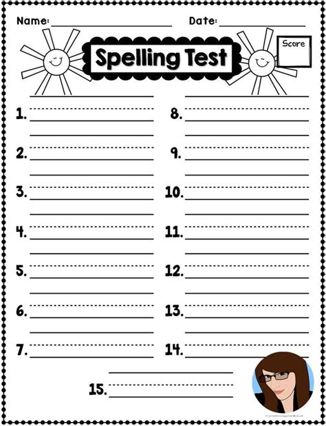 Spelling Test Template 10 Best Ideas About Spelling On Free Lego