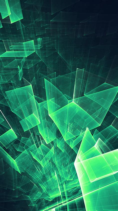 Looking for the best wallpapers? PAPERS.co   iPhone wallpaper   vl89-abstract-blue-green-cube-pattern