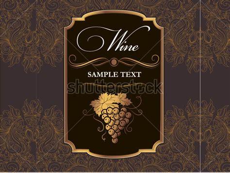 label template  wine format  wine label sample