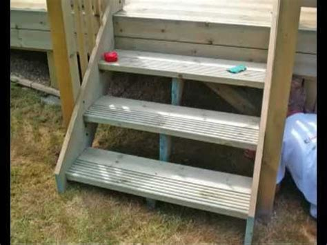 How To Build A Deck, Part 7  Fitting Steps All You Need