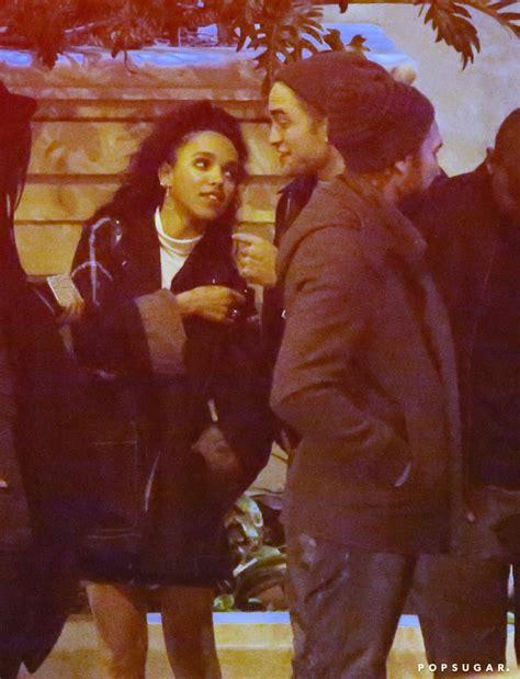 Robert Pattinson and FKA Twigs Kissing in LA | POPSUGAR ...