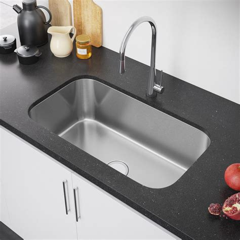 undermount sink kitchen exclusive heritage 32 x 19 single bowl undermount 3030