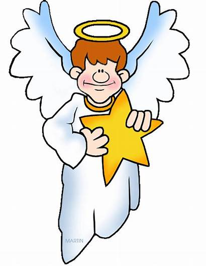 Clipart Clip Christmas Angel Nativity Angels Cliparts