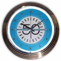 Ford Thunderbird Neon Clock NC 20 72