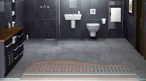 Radiant Floor Heating Bathroom bathroom heating options handyman tips