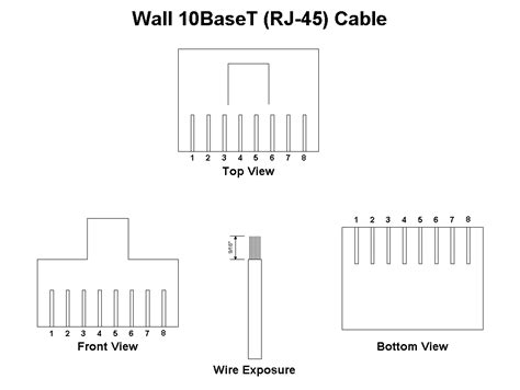 t1 wiring pinout diagram throughout rj45 wellread me