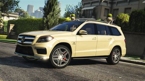mercedes benz gl amg add  replace gta modscom
