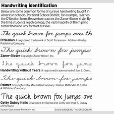 Most College Students Print As Cursive Writing Starts To Disappear On Oregon Campuses