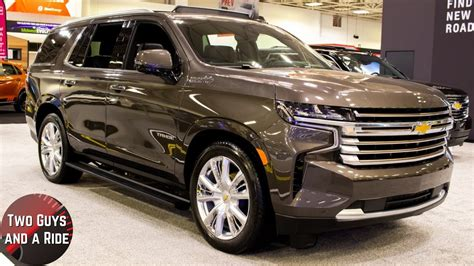 chevy tahoe high country big bold  refined