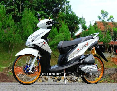 Modif Beat F1 by 50 Foto Gambar Modifikasi Beat Kontes Racing Jari