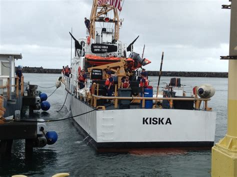 Coast Guard Cutter Kiska, Crew Return To Home Port  Big