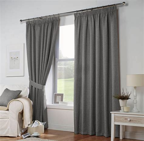 leighton ready made curtains in grey free uk delivery