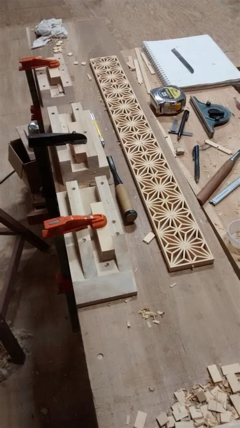 kumiko lattice work mokuchi