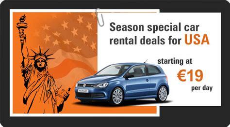 Exclusive Worldwide Car Rental Deals