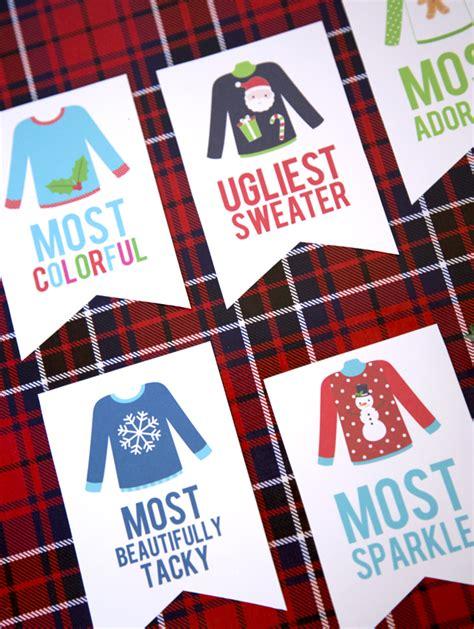 christmas party award ideas sweater awards eighteen25