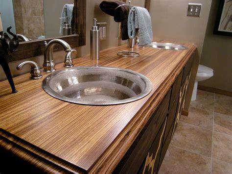 steel vanity sinks  wood top