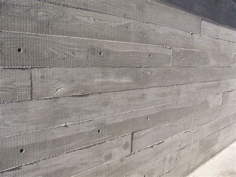 Holz Auf Beton by Concrete Concrete Meant To Appear As Wood The