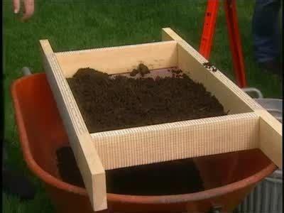video     soil sifter   garden martha