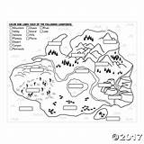 Coloring Canyon Pages Landforms Funky Getdrawings sketch template