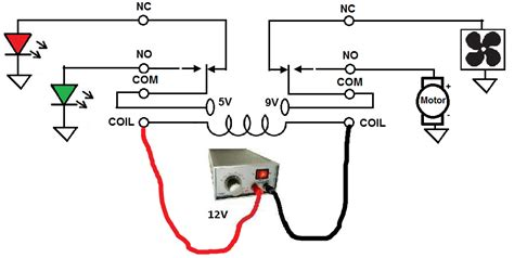 How Connect Dpdt Relay Circuit