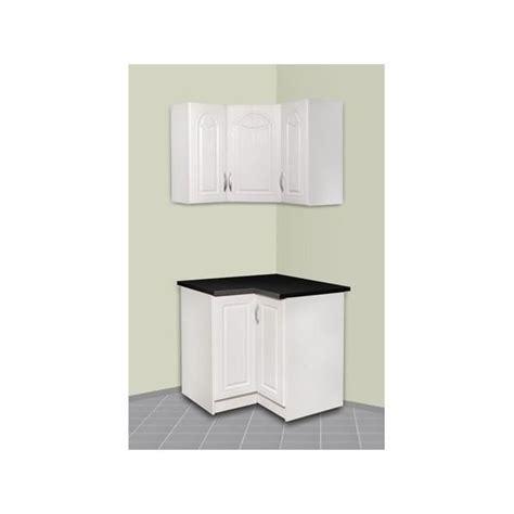meuble haut d angle cuisine meuble de cuisine d 39 angle haut et bas dina achat vente