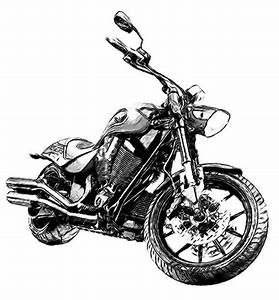 Victory Hammer Motorcycle Drawing. CUSTOM Drawings from ...