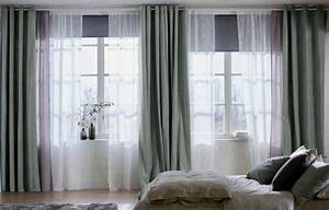 Ikea Vorhänge Wohnzimmer : gardinen ein ratgeber mit sch nen ideen sch ner wohnen ~ Markanthonyermac.com Haus und Dekorationen