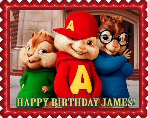 alvin and the chipmunks edible cake toppers alvin and the chipmunks road chip 1 edible cake topper
