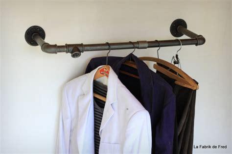 custom made black iron steel shelf garment rackindustrial pipe clothing rackwall by