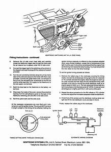 Newtronic Electronic Ignition Installation Instructions