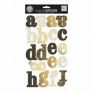 large gold lowercase alphabet stickers the container store With gold letter stickers large
