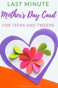 easy paper card 39 s day craft for