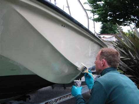 How To Spray Paint A Fiberglass Boat by Fibre Reinforced Plastic Gelcoat And Gelcoating Method