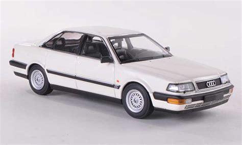audi v8 kaufen audi v8 weiss 1988 minichs modellauto 1 43 kaufen verkauf modellauto modellautos de