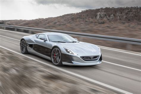 Rimac Automobili Unveils The Production Version Of The