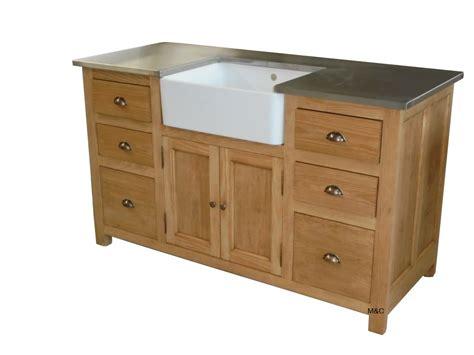 meuble de cuisine bois meuble sous evier de cuisine bois massif
