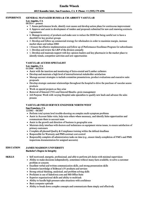 resume for vascular vascular resume sles velvet